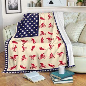 Mountain Bike Blanket@_shoppingmylife_tyujfgjr8@premium-blanket Mountain Bike Blanket Fleece Blanket, Personalized Gifts, Custom Blanket 585799