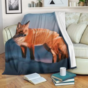 Fox Blanket@_shoppingmylife_fawfv@premium-blanket Fox Blanket Fleece Blanket, Personalized Gifts, Custom Blanket 585695