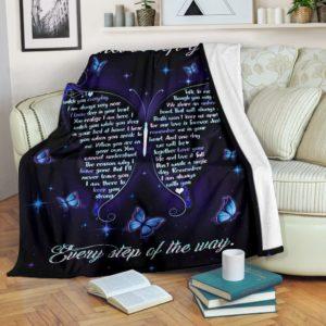 Blanket - Butterfly - I never left you@_weecreate4u_blaway@premium-blanket Blanket - Butterfly - I Never Left You Fleece Blanket, Personalized Gifts, Custom Blanket 585550