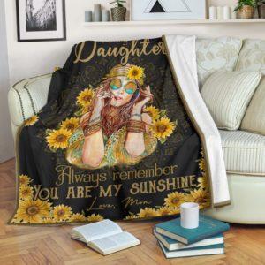 Blanket - Hippie - You are my sunshine@_weecreate4u_sundaugh@premium-blanket Blanket - Hippie - You Are My Sunshine Fleece Blanket, Personalized Gifts, Custom Blanket 585186