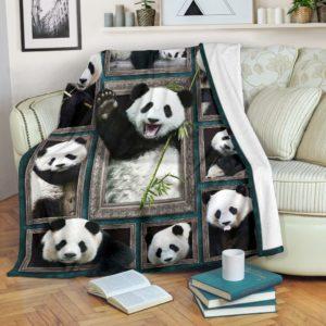Blanket - Animals - 3D Panda@_weecreate4u_pad3b@premium-blanket Blanket - Animals - 3D Panda Fleece Blanket, Personalized Gifts, Custom Blanket 584629