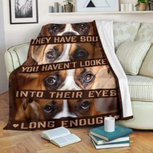 Blanket - Boxer - They have souls@_weecreate4u_bohaso@premium-blanket Blanket - Boxer - They Have Souls Fleece Blanket, Personalized Gifts, Custom Blanket 584111