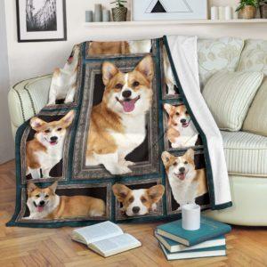 Blanket - Dogs - 3D Corgi@_weecreate4u_cg3b@premium-blanket Blanket - Dogs - 3D Corgi Fleece Blanket, Personalized Gifts, Custom Blanket 583968