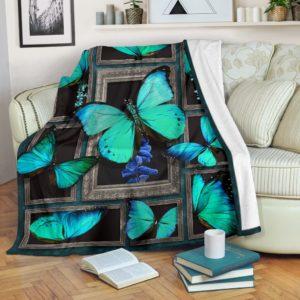 Blanket - Butterfly - 3D butterflies@_weecreate4u_but3b@premium-blanket Blanket - Butterfly - 3D Butterflies Fleece Blanket, Personalized Gifts, Custom Blanket 583670
