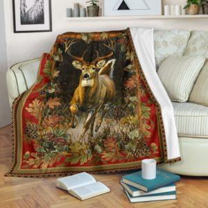 Blanket - Hunting - Deer hunting@_weecreate4u_dehunt@premium-blanket Blanket - Hunting - Deer Hunting Fleece Blanket, Personalized Gifts, Custom Blanket 582877