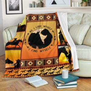 Blanket - Horse - As I lose myself I find myself@_weecreate4u_findmy@premium-blanket Blanket - Horse - As I Lose Myself I Find Myself Fleece Blanket, Personalized Gifts, Custom Blanket 582694