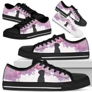 LTS-W-Dog-MandalaPastelTop-Schnauzer-58@ Low Top Pastel Mandala Top Schnauzer 58 Mens Womens Schnauzer Dog Shoes. Schnauzer Shoes for Men Women. Pastel Mandala Low Top Shoes for Dog Lovers. Dog Mom Dog Dad Custom Shoes. 627323