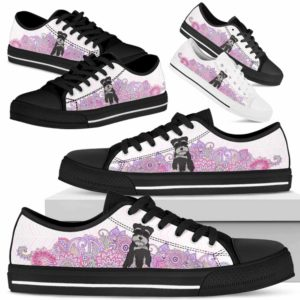 LTS-W-Dog-PastelMandalaBot-Schnauzer-59@ Low Top Pastel Mandala Bot Schnauzer 59 Mens Womens Schnauzer Shoes. Schnauzer Dog Shoes for Men Women. Low Top Shoes Gift for Dog Lovers. Pastel Mandala Dog Mom Custom Shoes. 624716