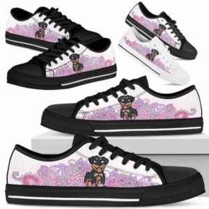 LTS-W-Dog-PastelMandalaBot-Rottweiler-56@ Low Top Pastel Mandala Bot Rottweiler 56 Mens Womens Rottweiler Shoes. Rottweiler Dog Shoes for Men Women. Low Top Shoes Gift for Dog Lovers. Pastel Mandala Dog Mom Custom Shoes. 620867