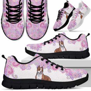 SS-W-Dog-PastelMandalaTop-Pit_Bull-43@ Sneakers Pastel Mandala Top Pit Bull 43 Mens Womens pit bull Dog Shoes. pit bull Sneakers for Men Women. Gift for Dog Lovers. Pastel Mandala Dog Mom Dog Dad Custom Shoes. 609269
