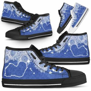 HTS-U-Dog-FeatherJean-Havanese-14@ Feather Jean Havanese 14-Havanese Dog Lovers High Top Shoes Gift Men Women. Feather Dog Mom Dog Dad Custom Shoes.