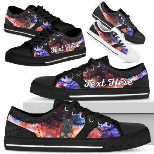 LTS-U-Dog-GalaxyNa023-Heeler-35@undefined-Heeler Dog Lovers Galaxy Tennis Shoes Gym Low Top Shoes Gift Men Women. Dog Mom Dog Dad Custom Shoes. Australian Cattle