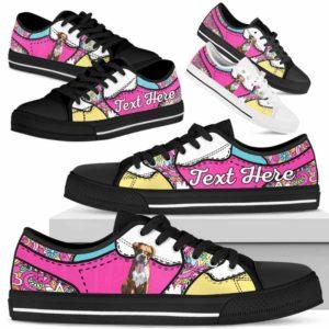 LTS-U-Dog-LovenPeaceNa013-Boxer-9@undefined-Boxer Dog Lovers Hippie Tennis Shoes Gym Low Top Shoes Gift Men Women. Dog Mom Dog Dad Custom Shoes.