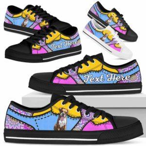 LTS-U-Dog-PastelMandalaNa013-Boxer-9@undefined-Boxer Dog Lovers Pastel Mandala Tennis Shoes Gym Low Top Shoes Gift Men Women. Dog Mom Dog Dad Custom Shoes.