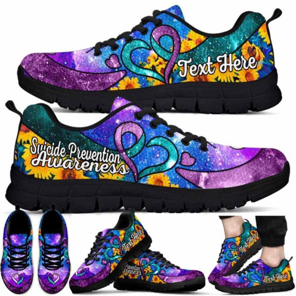 Breathable Running Shoes Sneakers Unisex Watercolors-Cats-Galaxy