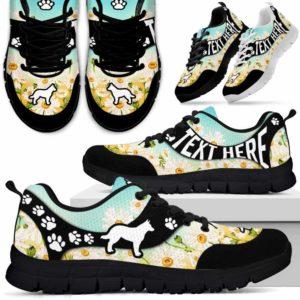 SS-U-Dog-DaisyNa02-Heeler-15@undefined-Daisy Flower Heeler Dog Lovers Sneakers Gym Running Shoes Gift Women Men. Dog Mom Dog Dad Custom Shoes. Australian Cattle