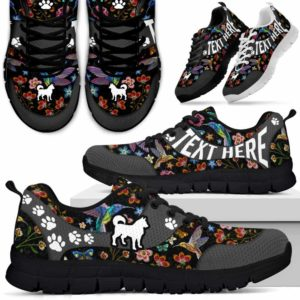 SS-U-Dog-EmbroideryNa01-Husky-16@undefined-Embroidery Flower Husky Dog Lovers Sneakers Gym Running Shoes Gift Women Men. Dog Mom Dog Dad Custom Shoes.