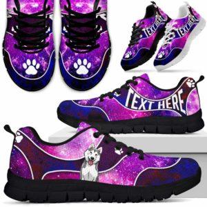 SS-U-Dog-GalaxyNa01-Husky-36@undefined-Galaxy Husky Dog Lovers Sneakers Gym Running Shoes Gift Women Men. Dog Mom Dog Dad Custom Shoes.