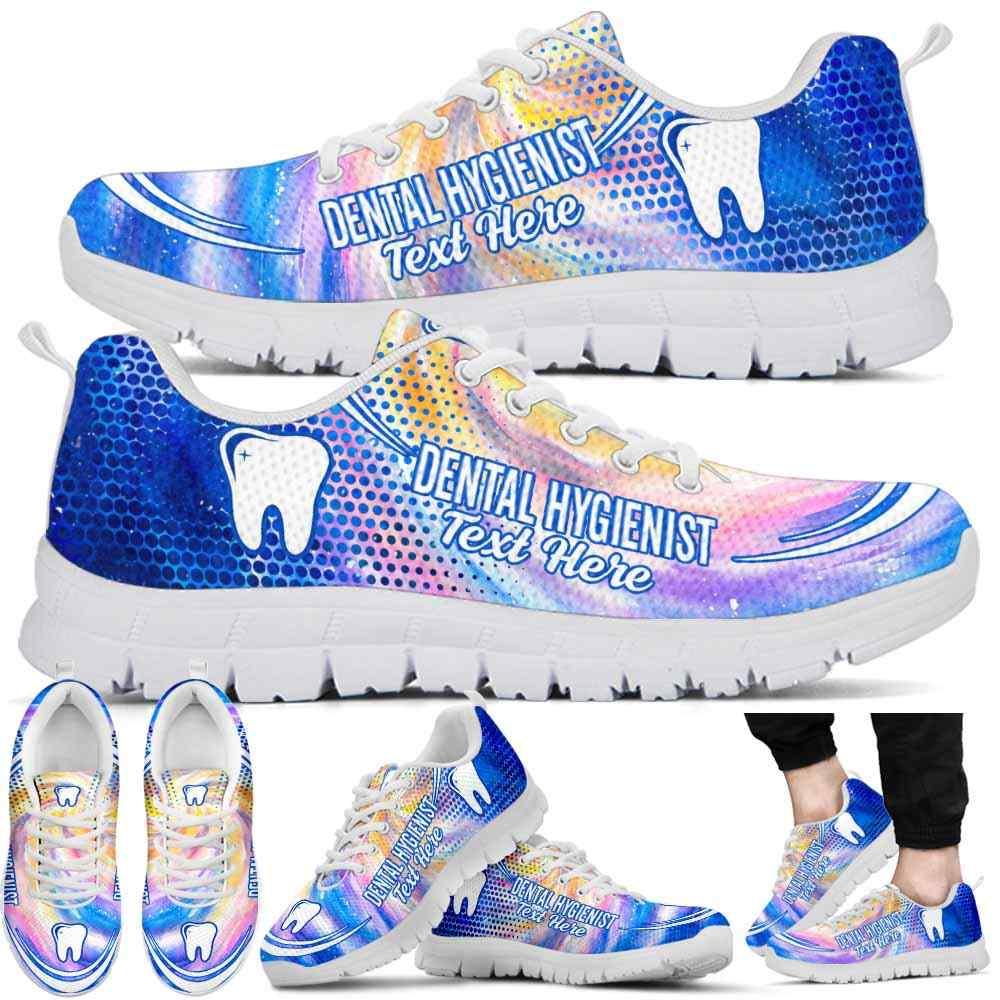 Dental Hygienist Galaxy Sneakers Gym