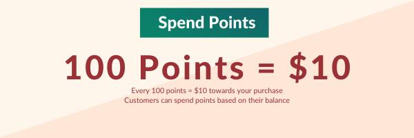 Spend Your Rewards Points Now