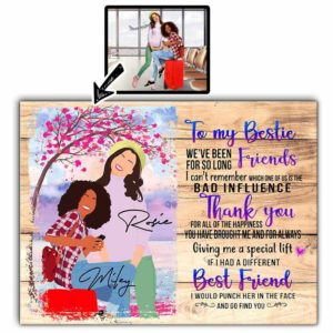 CAVA-U-Fami-ToMyBestFindYou-F9-0 @ Family Go Find You-Customizable Faceless Portrait From Photo. Personalized Digital Art Faceless Portrait. Gift For Bestie, Sister, Friend. Wall Art Canvas.