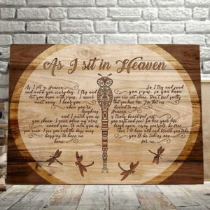 CAVA-U-Fami-INeveLeftDragWood-F9-0 @ Family I Never Left Dragonfly Wood-Memorial Gift For Family Loss. Memorial Canvas Memorial Keepsake. Bereavement Gift Remembrance Gift Grieving, Sympathy, Condolence Wall Art.