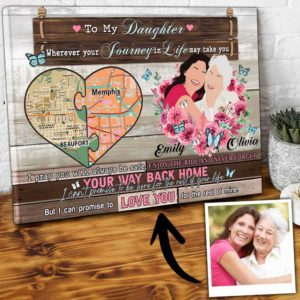 CAVA-U-Fami-IPromLifeNews-F9-0 @ Family I Promise Life Newspaper-Long Distance Gifts My Amazing Daughter Gift For Loving Daughter Canvas From Mom State To State And Personalized Portrait For Birthday Gifts