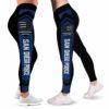 LEGG-W-Job-VY1SandPoliLine-Plof-0 @ SanDiego Police-Proud Police Leggings For Women. Thin Blue Line San Diego Pattern Women Leggings. Yoga Workout Gift For Women, Birthday Gift For Her.