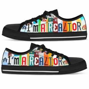 LTS-U-Job-Vy1LisePaleReal-Relt-0 @ Real Estate I_m A Realtor-I'M A Realtor Real Estate Low Top Shoes