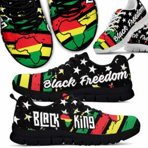 SS-U-Ctry-Vy1BlacKingBlacFree-Jute-0 @ Juneteenth Black King Black Freedom-Juneteenth Independence Day Sneakers Gym Running Shoes. African American Black King Black Freedom Customizable Shoes. Gift For Women Men.