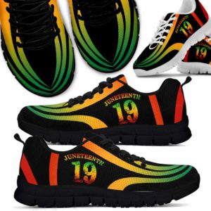 SS-U-Ctry-Vy1June19Line-Jute-0 @ Juneteenth 19 Line-Juneteenth Independence Day Sneakers Gym Running Shoes. African American Juneteenth 19 Customizable Shoes. Gift For Women Men.