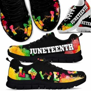 SS-U-Ctry-Vy1JuntHand-Jute-0 @ Juneteenth Junteenh Handcuff-Juneteenth Independence Day Sneakers Gym Running Shoes. African American Juneteenth Handcuff Customizable Shoes. Gift For Women Men.