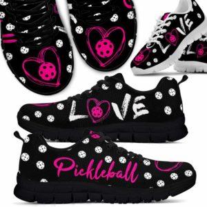 SS-U-Hobb-Vy1LoveBallPick-Pklb-1 @ Love Ball Pickleball-Pickleball Love Pink Sneakers Shoes