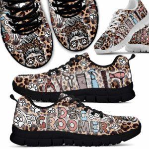 SS-U-Job-LeopSkulTool-Dgrm-0 @ Dog Groomer Leopard Skull Tools-Dog Groomer Tool Leopard Sneakers Shoes