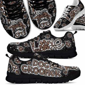 SS-U-Job-SkulSpraPain-Dgrm-0 @ Dog Groomer Skull Spray Paint-Pet Groomer Leopard Love Sneakers Shoes