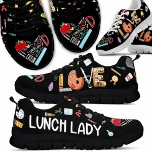 SS-U-Job-Vy1ToolColo-Llady-0 @ Lunch Lady Tools Colorful Lunch Lad-Lunch Lady Colorful Tools Love Sneakers Shoes