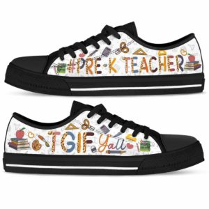 LTS-U-Job-Vy1TgifYalLeop-PreK-0 @ Pre K Teacher-Pre K Teacher Tgif Yall Low Top Shoes