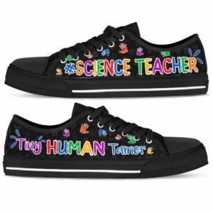 LTS-U-Job-Vy1TinyHumaTame-T14-0 @ Science Teacher-Science Teacher Tiny Human Temper Low Top Shoes