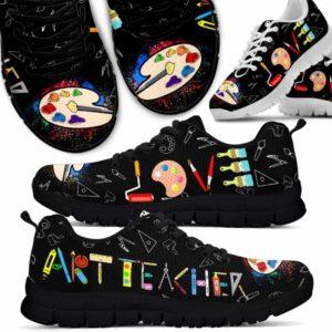 SS-U-Job-Vy1ArtTeacLove-Atcr-0 @ Art Teacher Love-Art Teacher Love Sneaker Shoes