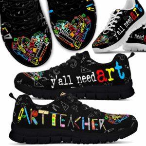 SS-U-Job-Vy1ArtTeacToolHear-Atcr-0 @ Art Teacher Tools Heart-Art Teacher Tools Heart Sneaker Shoes