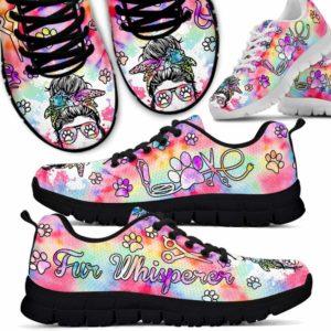 SS-U-Job-Vy1PastTieDye-Dgrm-6 @ Dog Groomer Fur Whisperer-Fur Whisperer Tie Dye Love Heart Sneakers Shoes