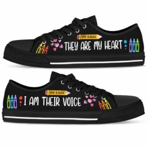 LTS-U-Job-VoicAndHearPenc-Sped-210802NA10 @ Sped Teacher Voice And Heart Pencil-Sped Teacher Pencils Heart And Voice Low Top Shoes