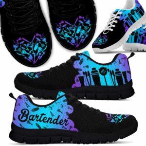 SS-U-Job-Vy1ToolHearClou-Btd-0 @ Bartender Tools Heart Cloud-Bartender Gradient Cloud Tools Heart Sneakers Shoes