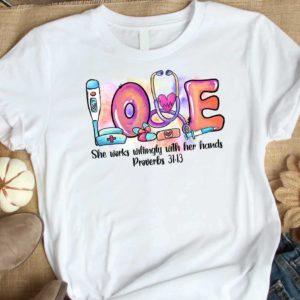 TS-U-Nur-LovePastGoth-Nur-210920VA199 @ She works willingly-Nurse She Works Willingly Pastel Shirt