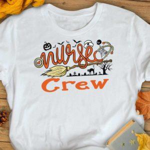 TS-U-Nur-NursCrew-Nur-210920VA10 @ Nurse Crew-Nurse Crew Halloween Broom Shirt